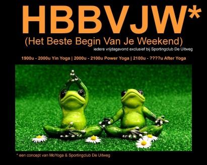 MoYoga - Het Beste Begin Van Je Weekend - flyer klein